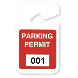 TEMPbadge 05194 - Non-Expiring Parking HangTag (qty. 100) Image 1