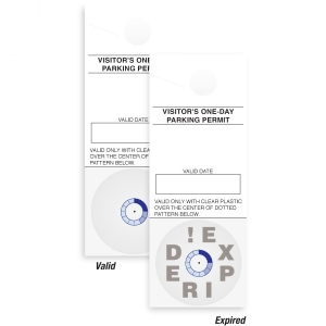 TEMPbadge 05128 One-Day Expiring Parking Voucher (qty. 3000) Image 1