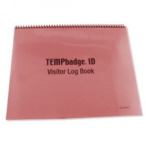 TEMPbadge 08173 - Visitor Log Book Image 1