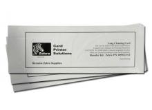 Long Cleaning Cards for Polaroid/Zebra ID Card Printers (Dual-Sided Qty.50)