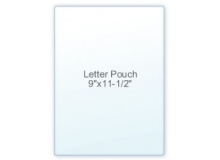 9 x 11-1/2 Letter Size Laminating Sheets (100 Sheets per Box)
