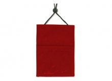 Red 3-Pocket Wallet with Pen Compartment (Pack of 25)