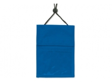 Royal Blue 3-Pocket Wallet with Pen Compartment (Pack of 25)