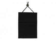 Black 3-Pocket Wallet with Pen Compartment (Pack of 25)