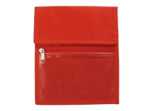 Red Nylon Credential Wallet (Pack of 25)