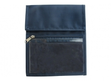 Blue Nylon Credential Wallet (Pack of 25)
