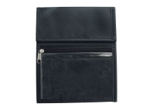 Black Nylon Credential Wallet (Pack of 25)