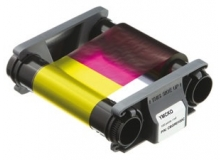 Evolis Full Colour Ribbon - YMCKO - 100 Prints (EV-CBGR0100C)