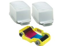 Magicard Full Colour Ribbon with Card Dispensers - YMCKO - 100 Prints