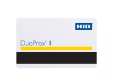 HID DuoProx II Printable Proximity Card with Mag Stripe
