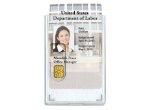 2-Card Rigid Shielded ID Card Holder (Pack of 100)