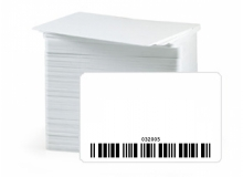 Pre-Encoded Laser Engraved Barcoded Cards with Readable Number (Pack of 100)