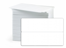 CR80 30Mil PVC 2UP Keytag Cards, No Hole, Graphic Quality (pack of 200)