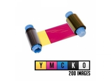 Javelin YMCKO Full Colour Single Sided Ribbon - 200 Prints