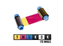 Javelin YMCKOK Full Colour Dual Sided Ribbon - 170 Cards