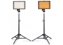 10ft Metal stand with 30w LED Light