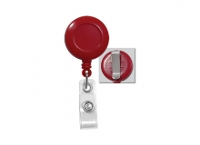 Secure ASP Red Economy ID Badge Reel (Pack of 100)