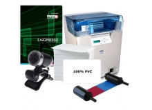Nisca 600DPI Dual Sided HDP Retransfer ID Card System