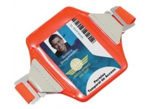 Construction Grade Reflective Armband Badge Holder (Pack of 100)