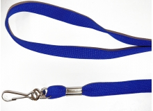Non Breakaway Royal Blue Lanyard with Swivel Hook - Pack of 100