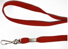 Non Breakaway Red Lanyard with Swivel Hook - Pack of 100