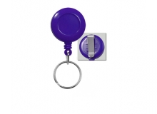 Secure ASP Blue Economy ID Badge Reel with Split Ring (Pack of 100)