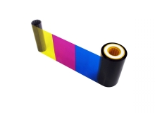 EdiSecure XID PR000813 YMCKUv Full Colour Ribbon - 750 Prints