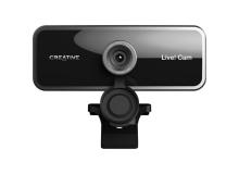 Creative Labs Sync Cam Live!  - Tripod Mountable 1080p Wide angle Webcam with Dual Microphones