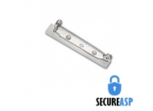 Secure ASP Pressure-Sensitive Bar Pin (Pack of 100)