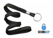 Secure ASP 3/8in Flat Lanyard with Split Ring (Pack of 50)