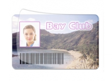 Polyester 2 Mil Overlay For PVC CR80 ID Cards (Pack of 100)