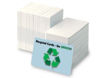 Recycled CR80 30mil Cards (Box of 200)