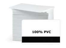 Fargo UltraCard - CR80 30Ml PVC Cards with HE Mag Stripe (Qty. 200)