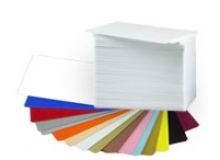 CR80 30 Mil PVC Cards, Assorted Colours (pack of 100)