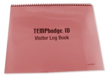 TEMPbadge 08173 - Visitor Log Book