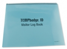 TEMPbadge 08174 - School Visitor Log Book