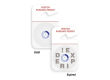 TEMPbadge 05139 - Expiring Parking HangTag (qty. 3000)