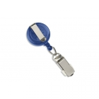 Round Badge Reel with Card Clamp and Belt Clip (Pack of 100) Image 2