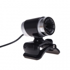 USB Web Camera with Microphone - 360° Movement - 640x480 Image 2