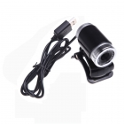 USB Web Camera with Microphone - 360° Movement - 640x480 Image 4