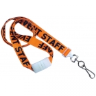 Secure ASP 5/8in Pre-Printed Flat Breakaway Lanyard with Swivel Hook (Pack of 50) Image 3