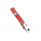 Secure ASP 2-Hole Colour Vinyl Strap Clip (Pack of 100) Image 4