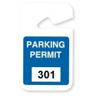 TEMPbadge 05194 - Non-Expiring Parking HangTag (qty. 100) Image 8