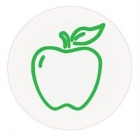 TEMPbadge 08140 Apple, Smiley, or Clear Time Covers (qty. 1,000) Image 3